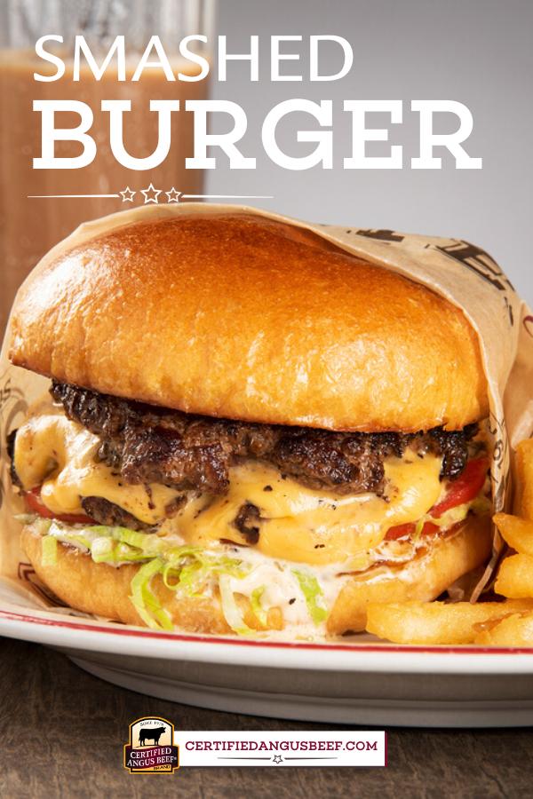 Smashed Burger Homemade Burgers Best Hamburger Recipes Delicious Burgers