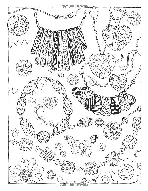 Fanciful Fashions Coloring Book: Amazon.de: Marjorie Sarnat ...