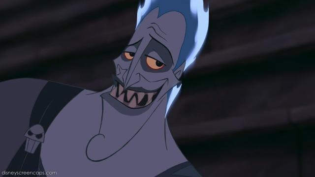 Hades smile