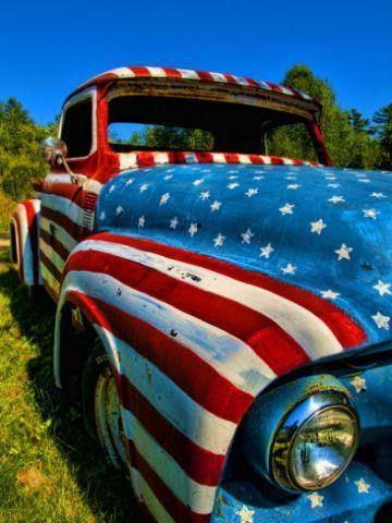 Happy Birthday America Ford Trucks Classic Trucks Trucks