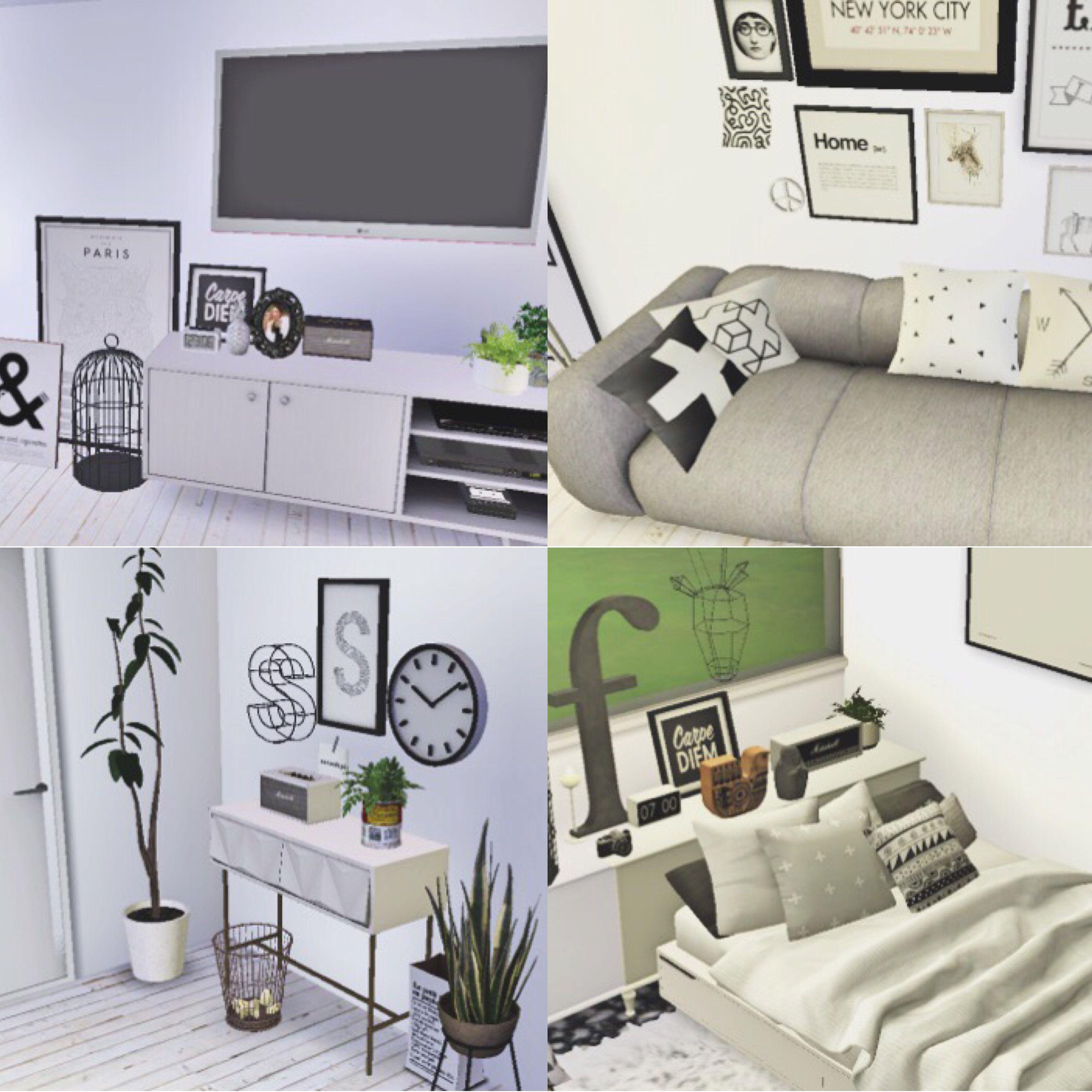 CASA BRANCA casa inspirado em uma casa tumblr toda em branco e