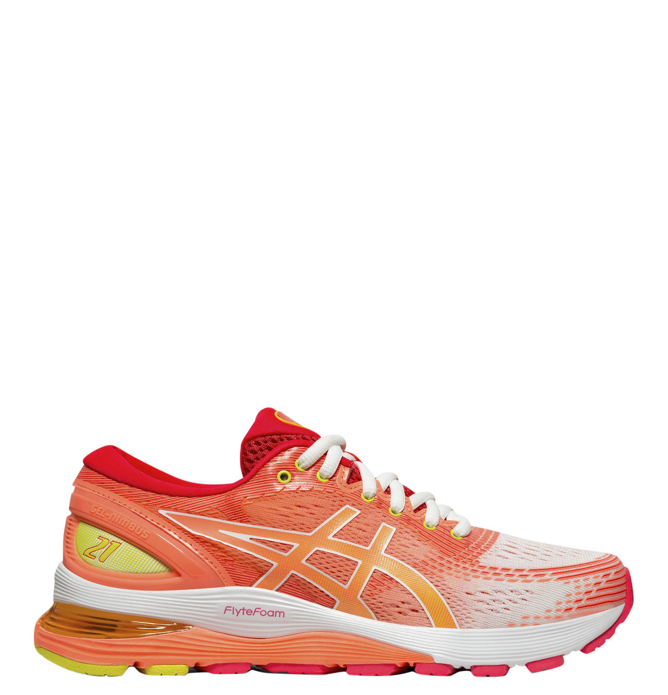 Asics Gel Nimbus Damen Laufschuhe Orange