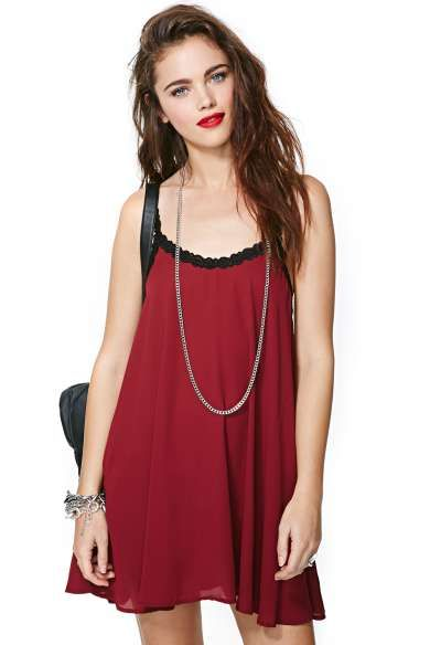 Fascinate Lace Slip Dress
