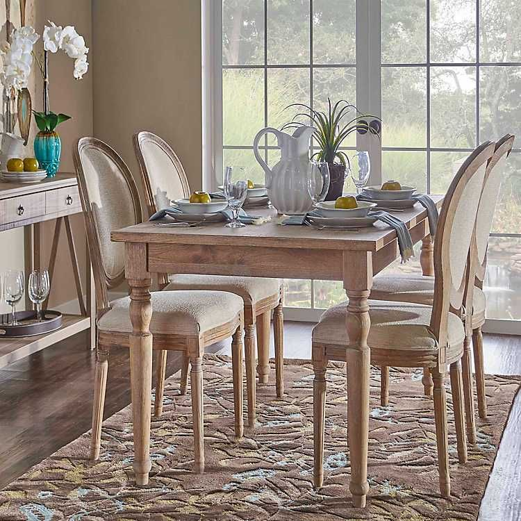 Reese Turned Leg Dining Table In 2020 Beautiful Dining Rooms