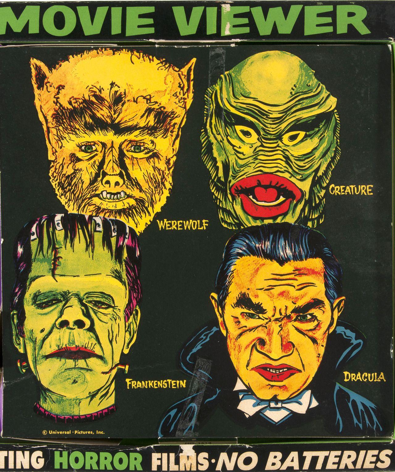 1960s Horrorscope Monster Viewer | Spooky Kids Stuff