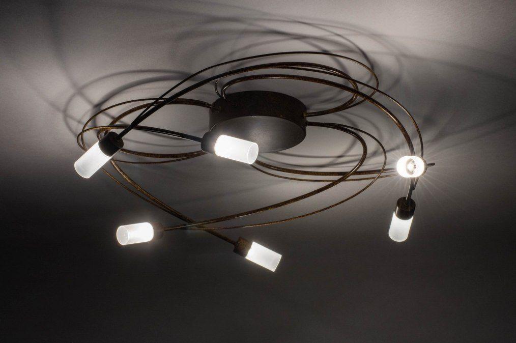 Artikel deze dimbare led plafondlamp oogt vrij klassiek