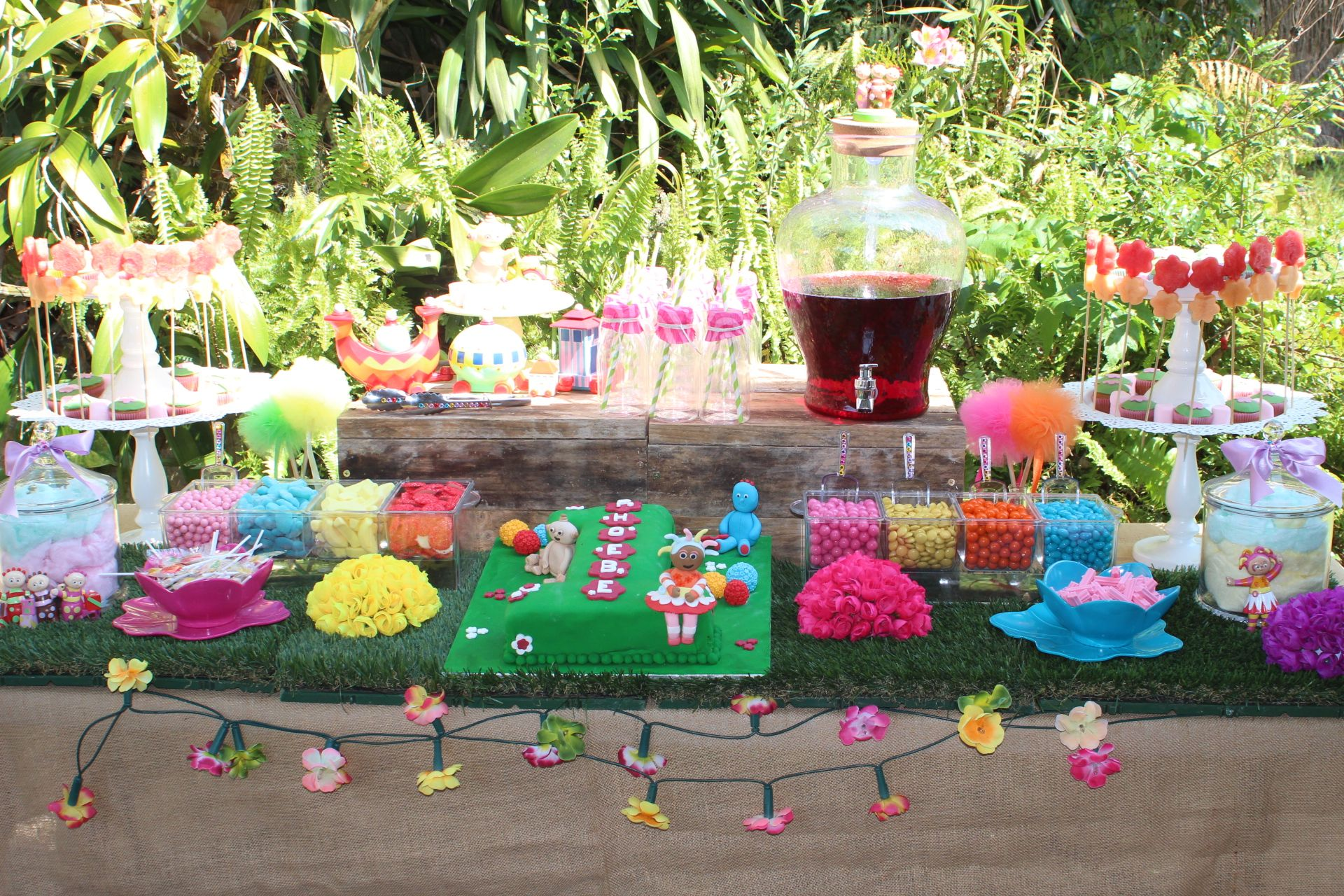 In The Night Garden Lolly/Candy Buffet styled by \
