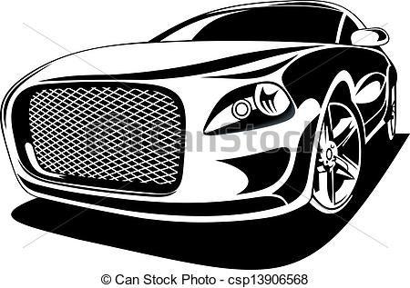 Exotic Car Clipart Vector Graphics 736 Exotic Car Eps Clip Art