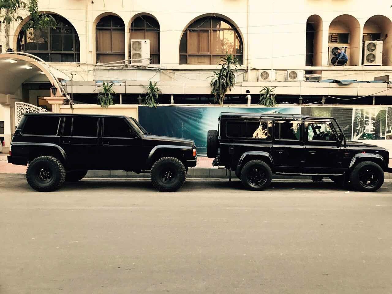 Monster Patrol Y60 Land Rover Defender Custom Nissan Patrol Nissan Nissan Patrol Y61
