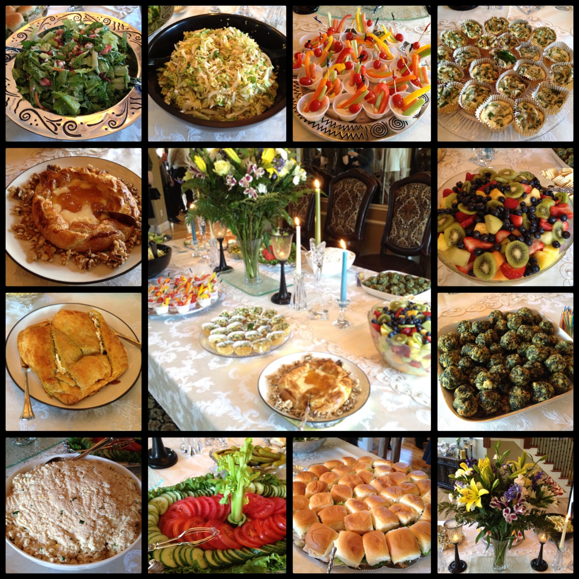Simple Wedding Reception Food: Bridal Shower Brunch Menu, Bridal