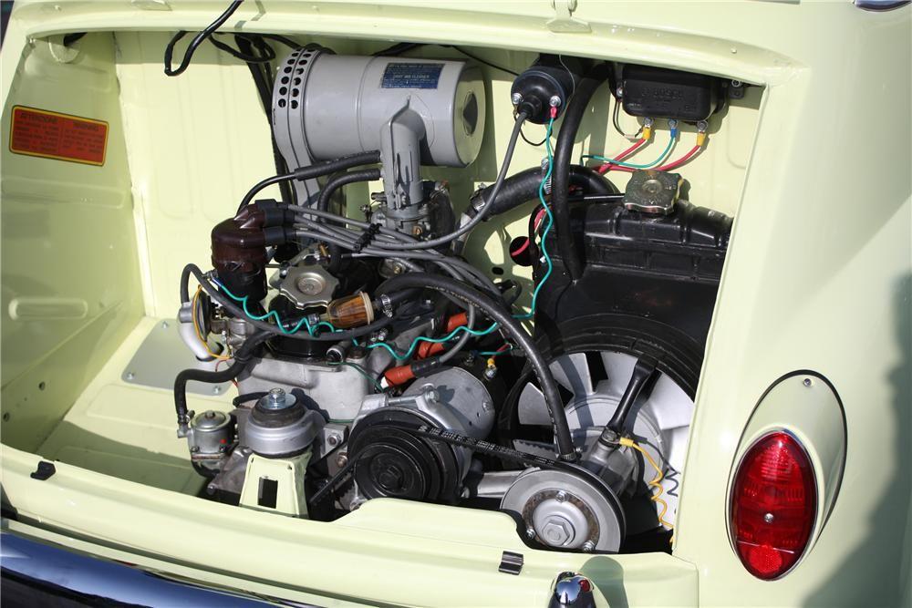 1959 Fiat Multipla Model 600 Van Micro Car Barrett Jackson