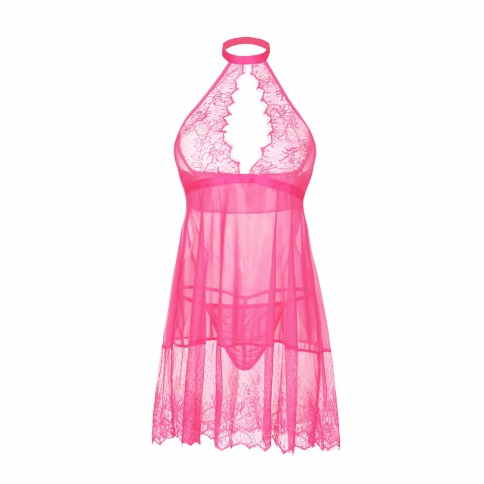 latest hot japanese mature nightwear transparent dress with g string
