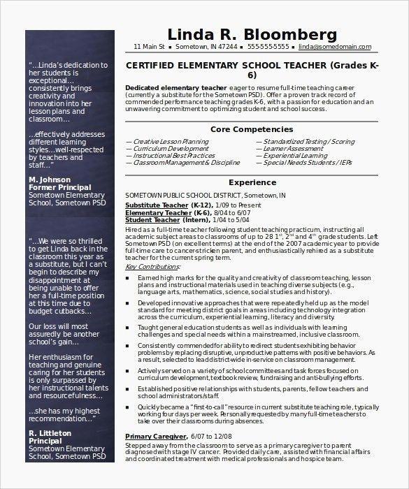 78 Cool Images Of Sample Resume for Teachers Skills ...