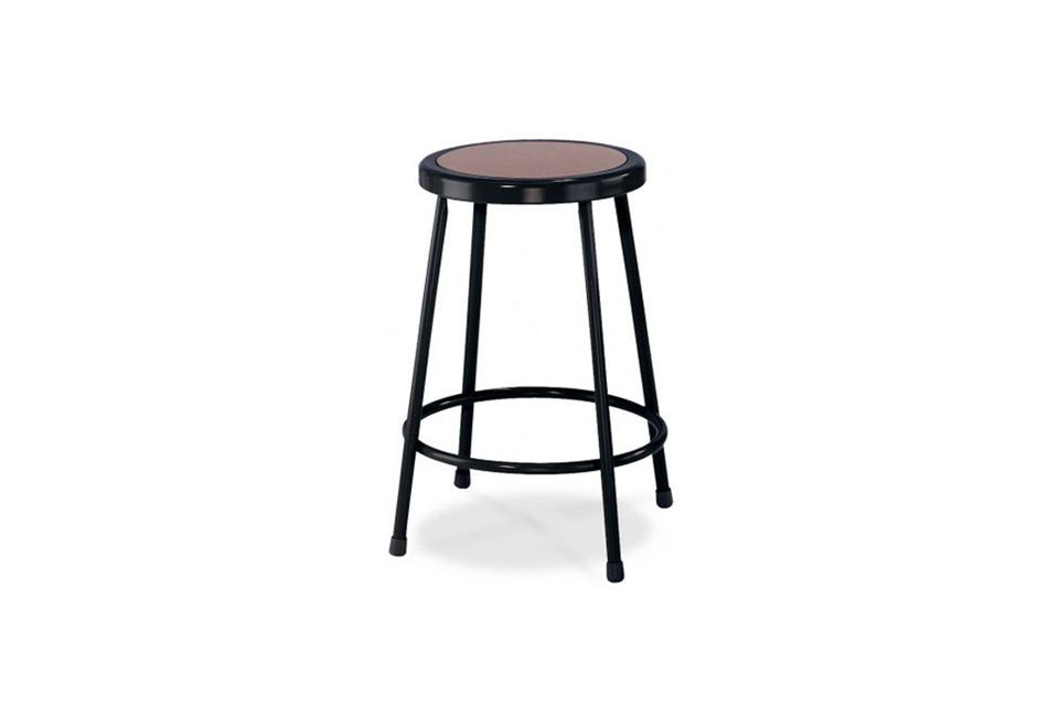 Awesome Round White Bar Stool
