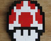 LEGO custom kit: Super Mario Bros 3 mushroom