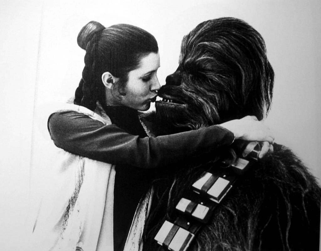 """""""I'd just as soon kiss a wookie"""" """"That can be arranged"""""""