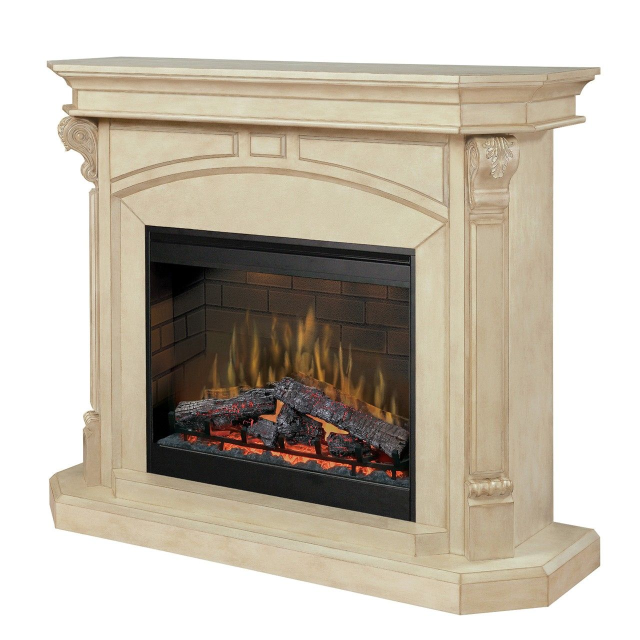 Dimplex Bromley Electric Fireplace Model # SOP-495-P Seigermans Furniture