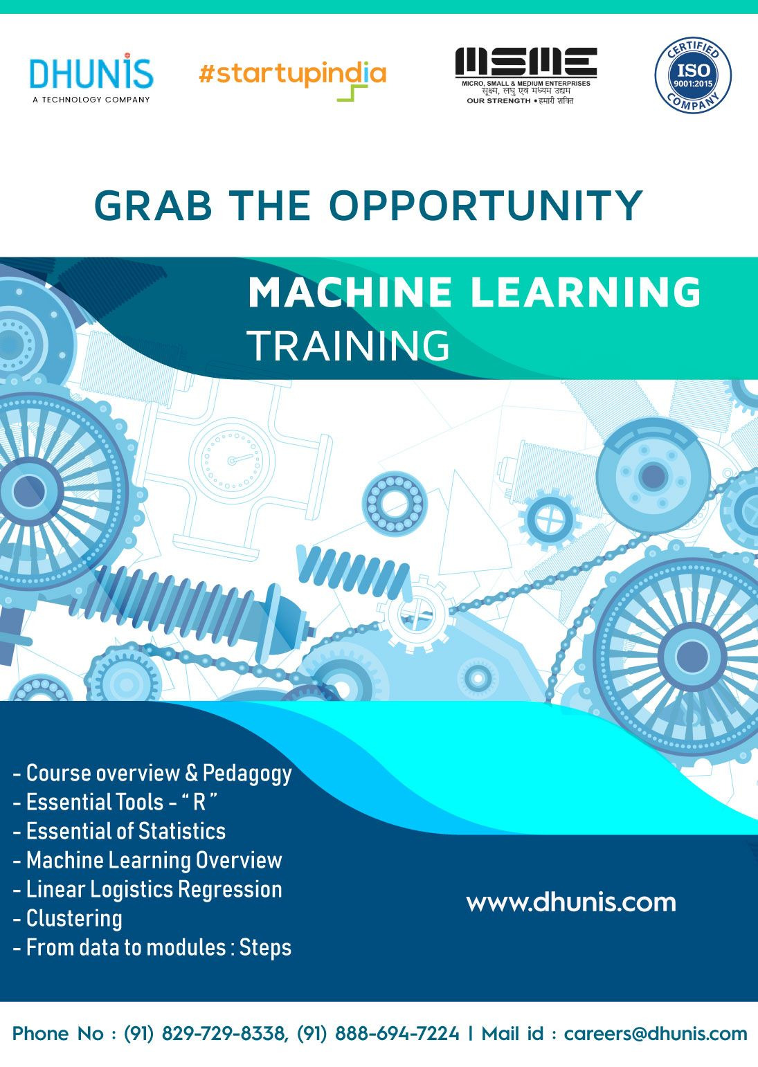 Dhunis Technologies is bringing for the Vizag Students to