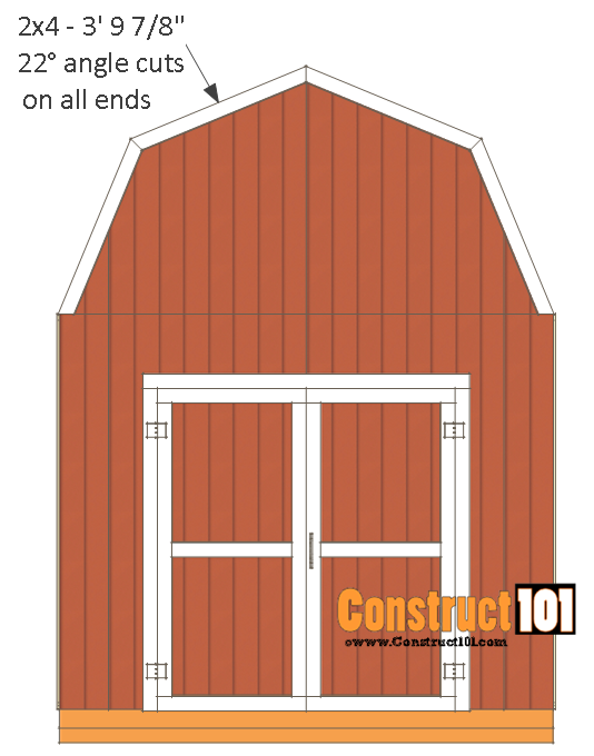 Shed Plans 10x12 Gambrel Shed Shed Plans 10x12 Shed Plans Building A Shed