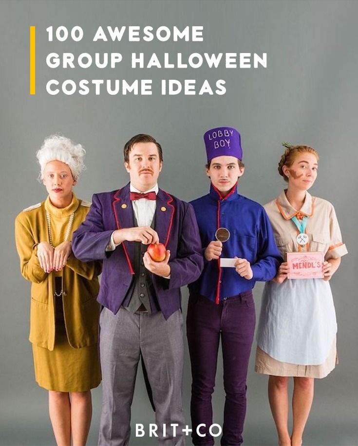 Gather your crew + rock a group Halloween costume that will steal the show with these  sc 1 st  Pinterest & Gather your crew + rock a group Halloween costume that will steal ...