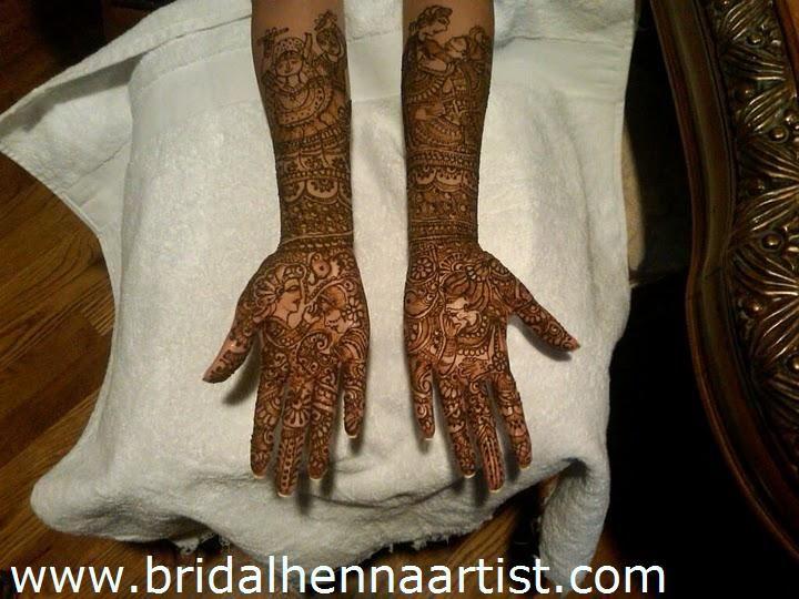 Bridal henna designs mehandi
