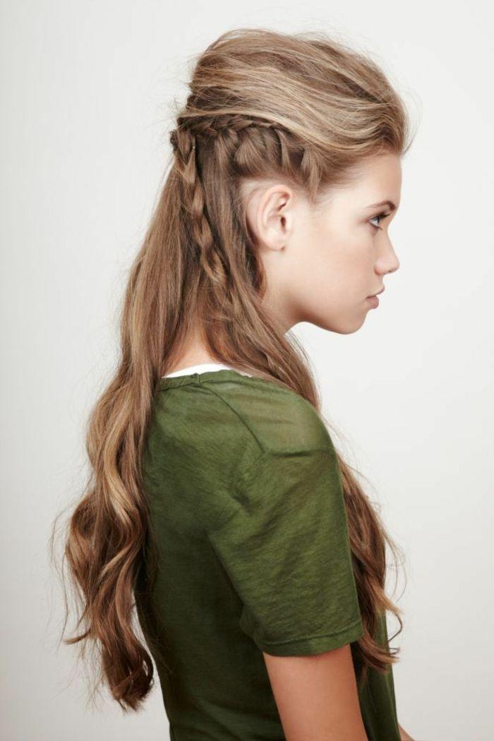 Coiffure Viking Femme Cheveux Court