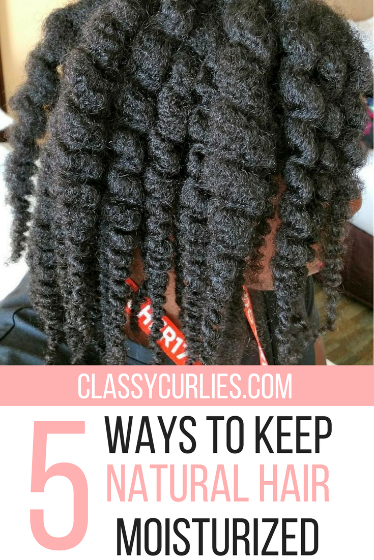 5 Ways to Keep Your Natural Hair Moisturized | Natural ... - photo #27