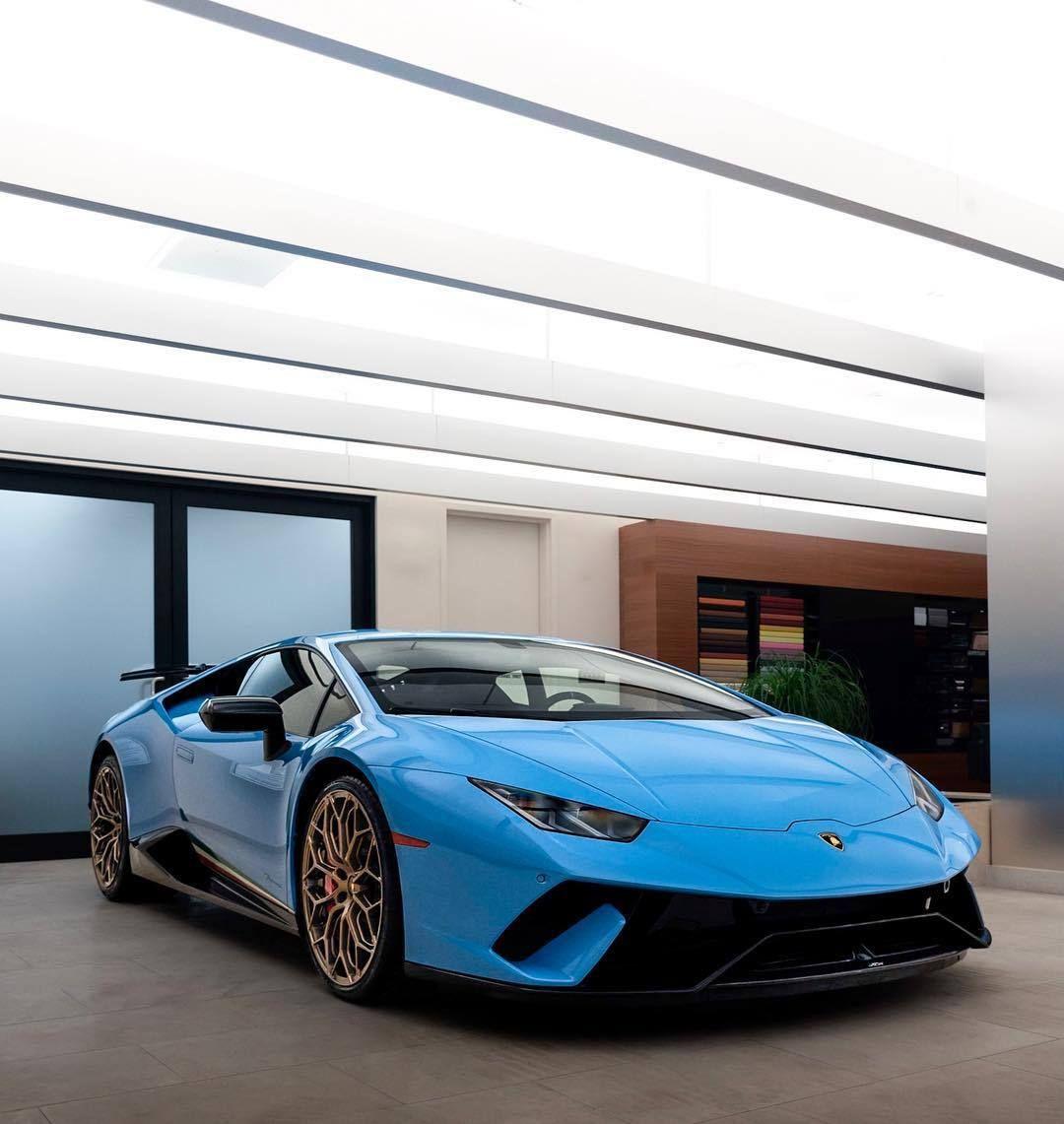 Light Blue Bull Lamborghini Huracan Performante Best Luxury Cars Blue Lamborghini Top Luxury Cars