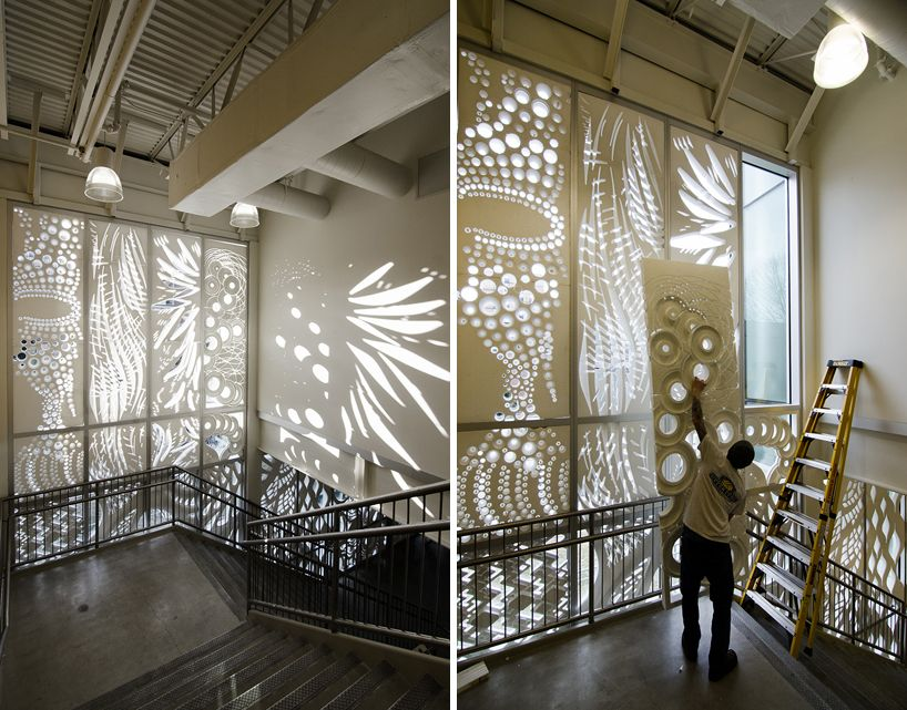 Tyler School Of Art Temple University Students Create Patterning