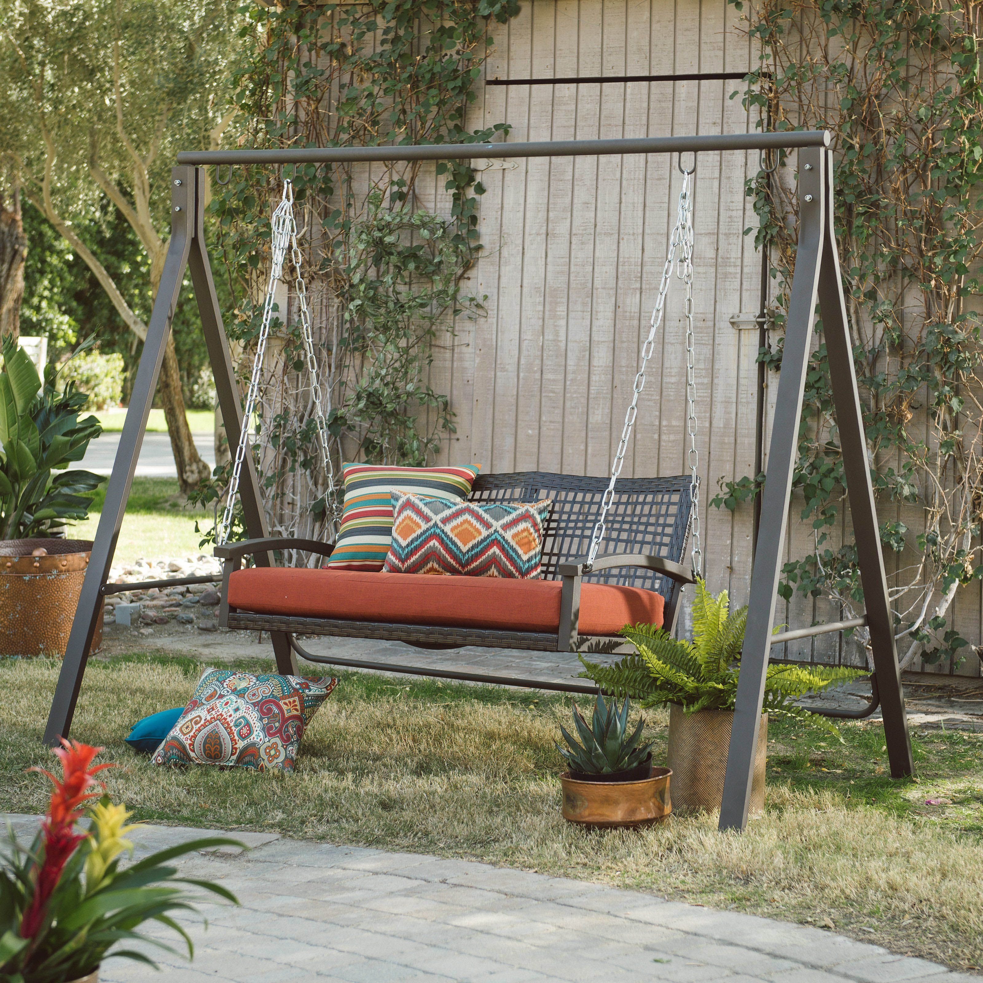 Free Diy Porch Swing Plans Ideas To Chill In Your Front Porch With Images Meble Ogrodowe Meble Ogrod