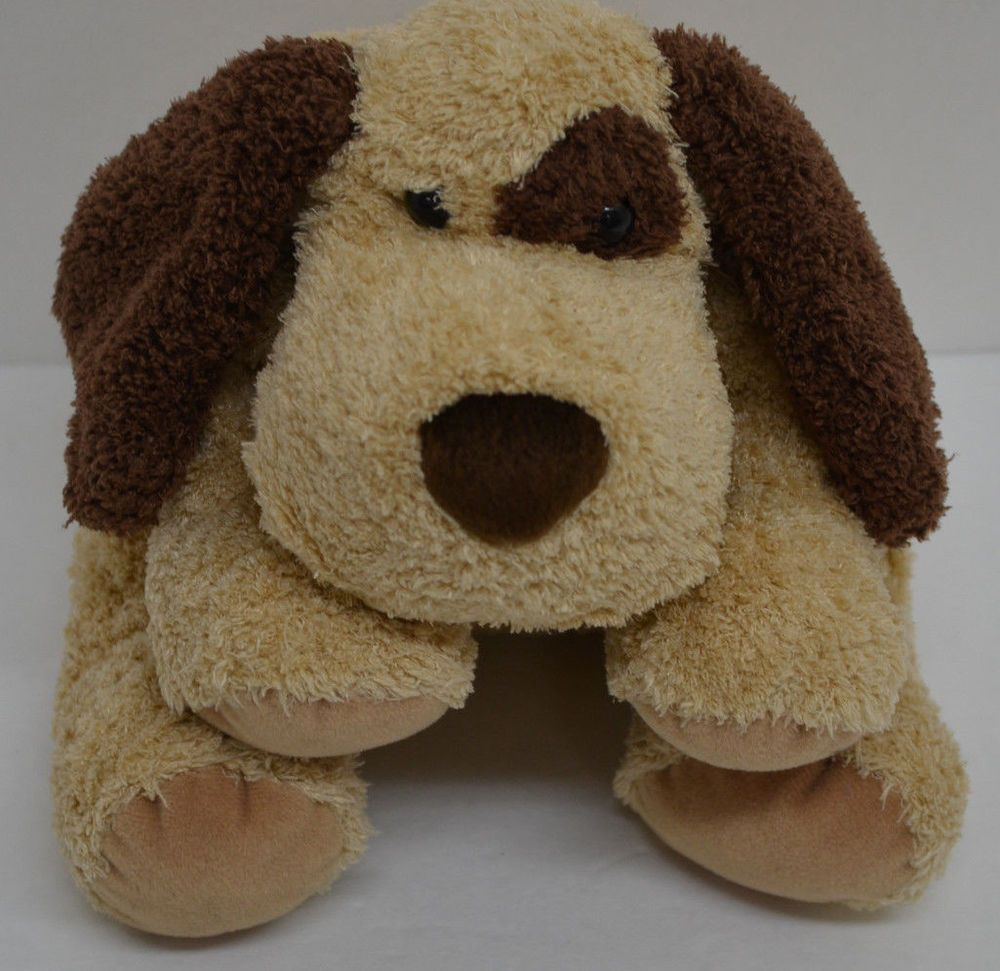 Gund Roscoe Puppy Dog Plush Brown Spots Floppy Stuffed