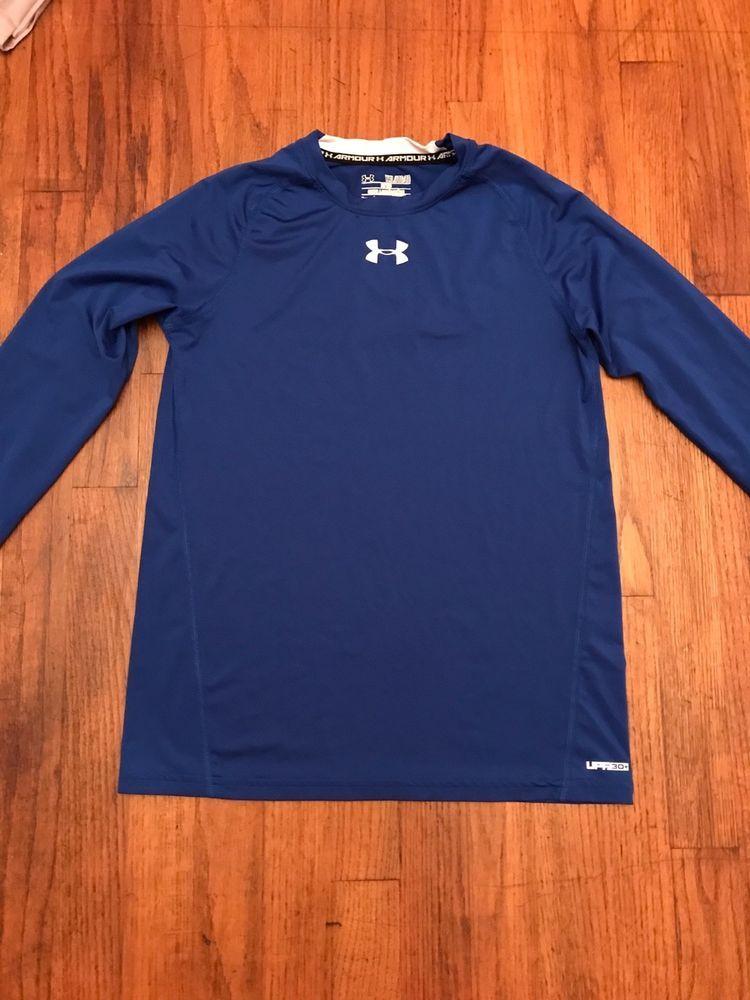 Boys youth size xl under armour royal blue shirt fashion