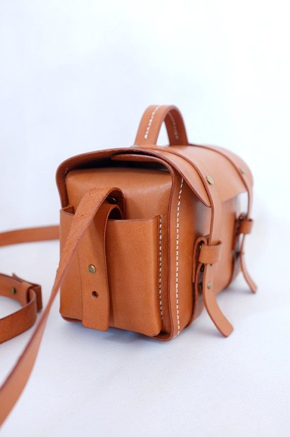 Brown Leather Camera Bag One Like This