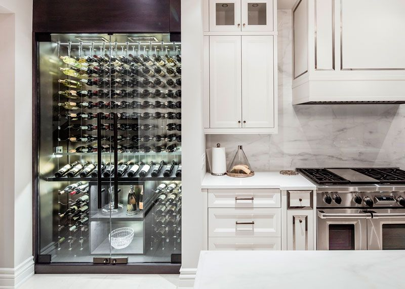 modern wine cellar cable wine system 41 | My dream kitchen ...