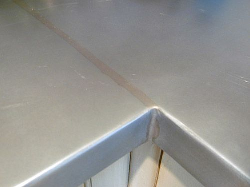 Photos Of Custom Zinc Countertops Zinc Countertops Countertops Zinc Countertops Kitchen