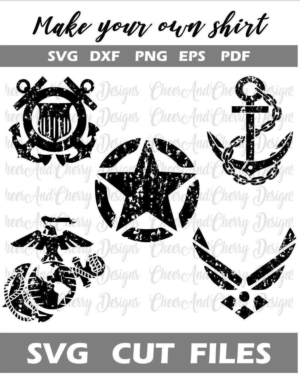 Military svg bundle, Army svg, air force svg, Marine Corps