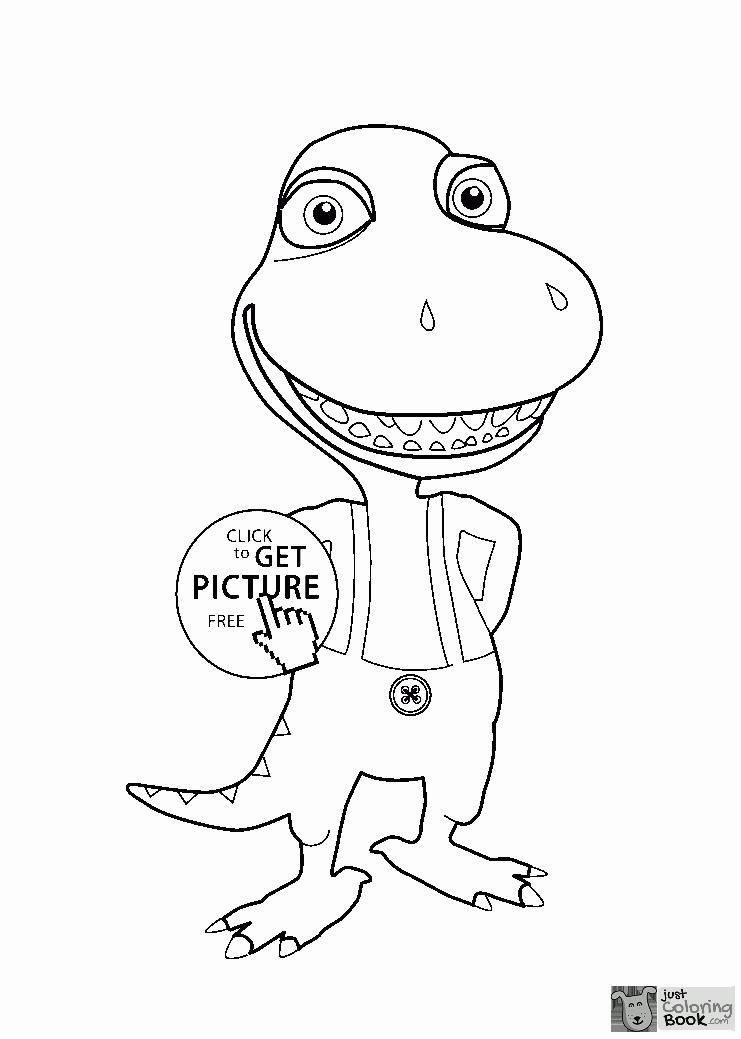 Buddy Dinosaur Train Coloring Pages