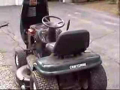 Diy Craigslist Find Mower Repair Craftsman Lt1000 Lawn Tractor For 175 Like New You