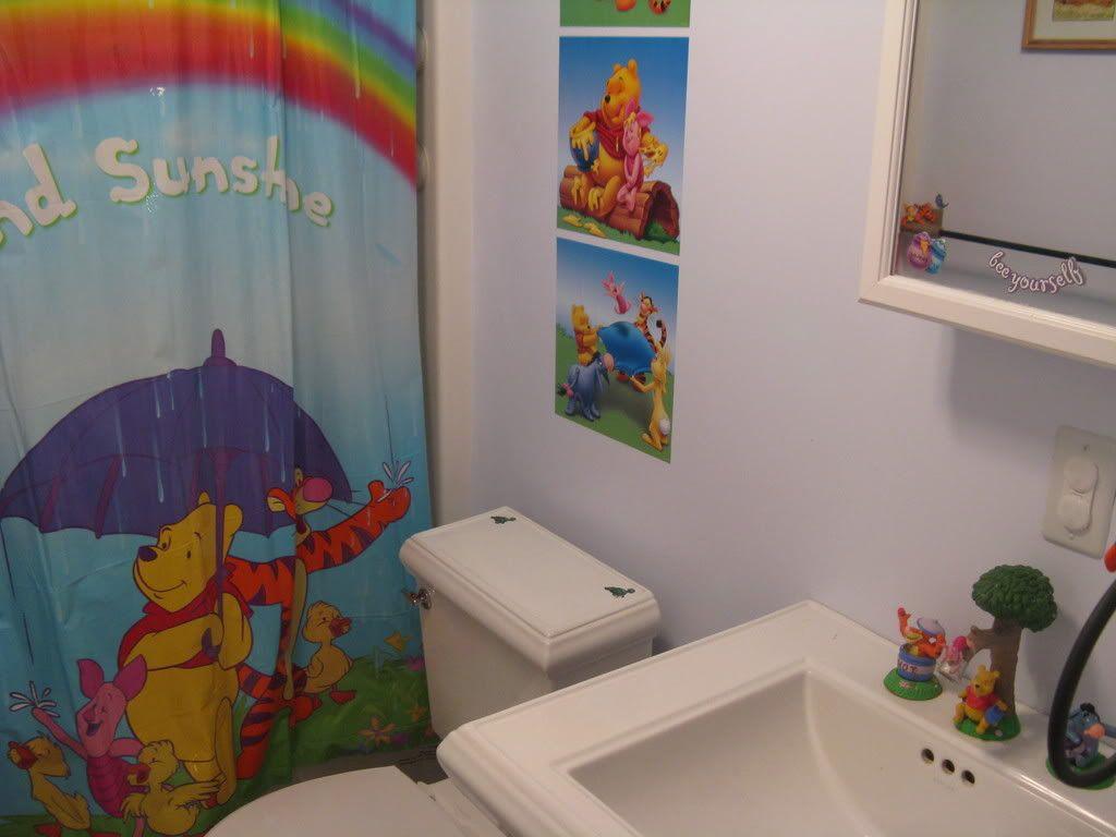 Winnie The Pooh Faucet Bath Kohler Memoir Fixtures Piece Of
