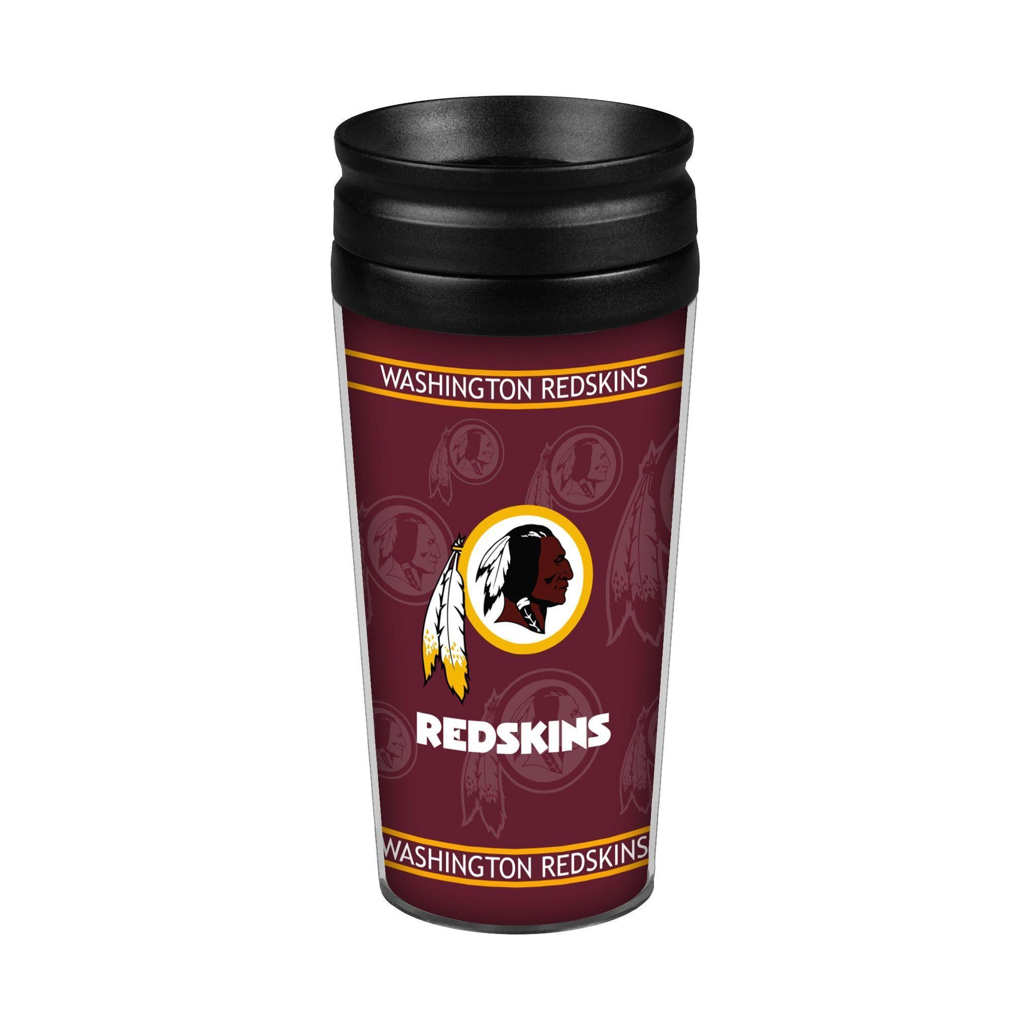 Washington Redskins 14oz. Full Wrap Travel Mug