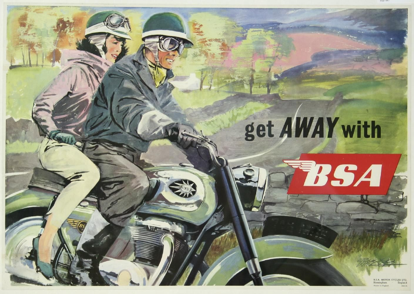 Condon Skelly | BSA motorcycles Archives | Condon Skelly
