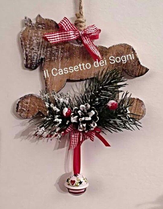 Cavallo a dondolo decorazione .. https://www.facebook.com/Il-Cassetto-dei-Sogni-1890162974542736/