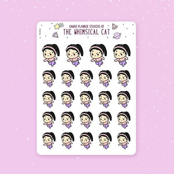 Pin On Exercise Work Out Planner Stickers