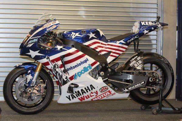 Yamaha M1 Colin Edwards US GP 2008