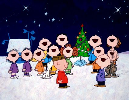 """I always cry when they say """"Merry Christmas Charlie Brown!"""" but it still makes me smile inside"""