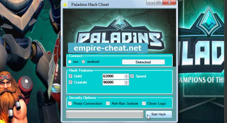 Paladins Hack Cheat (Paladins Champions Of The Realm Hack