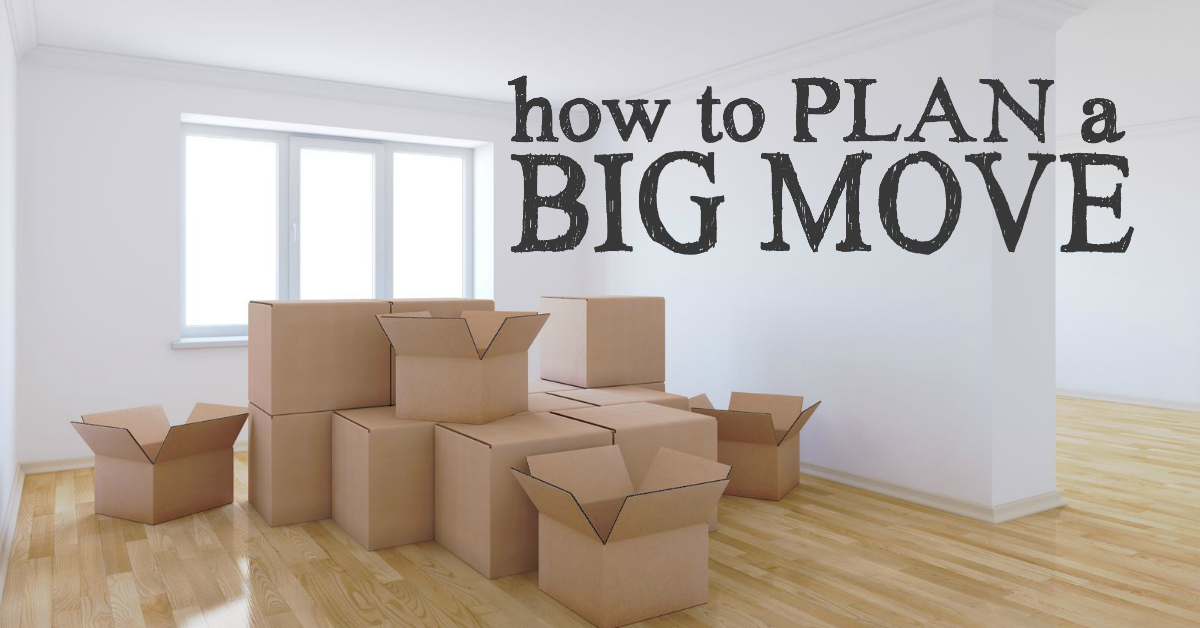How To Plan A Big Move House Removals Planning A Move Kingston