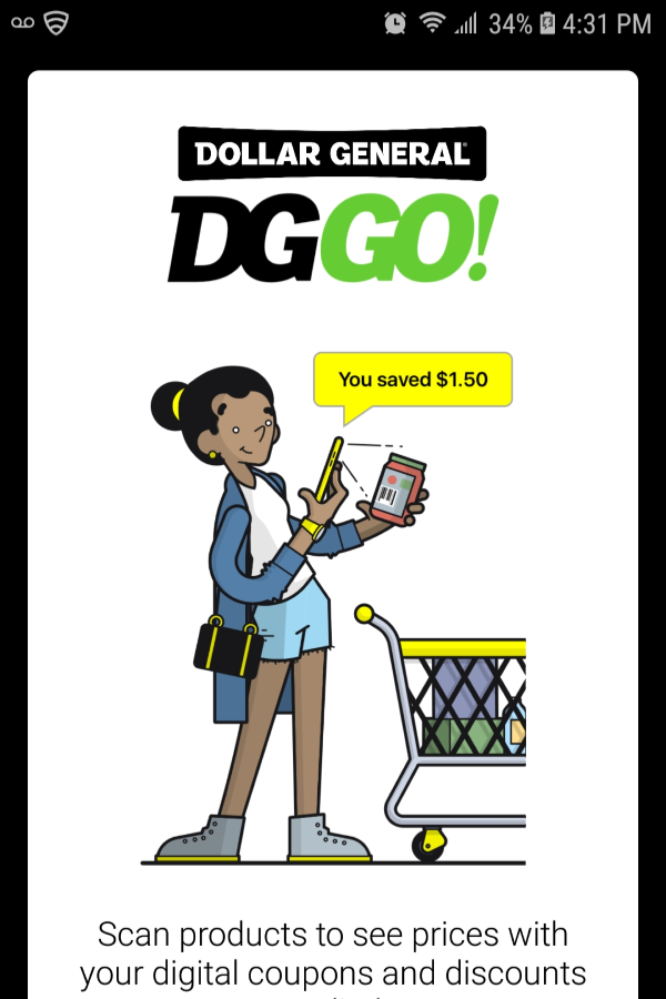 Dollar General Check Out The New DG GO App Dollar