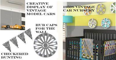 Car Themed Nursery 1950s Vintage Theme Room With