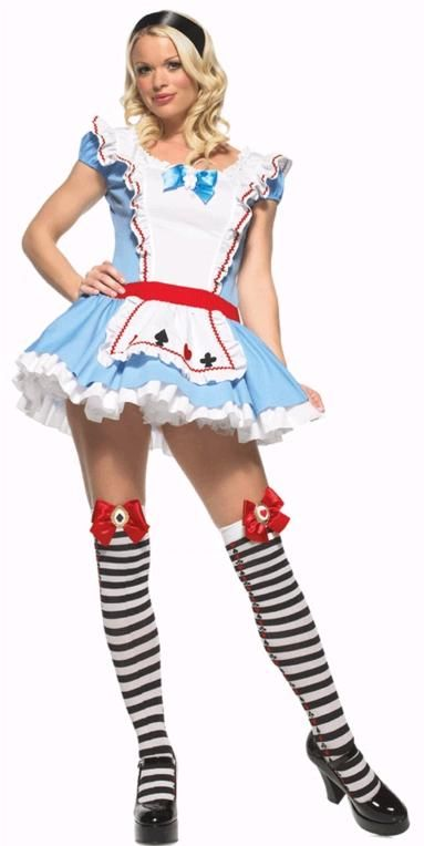 906234a4a9b FANCY DRESS ADORABLE ALICE COSTUME / ALICE IN WONDERLAND OUTFIT ...